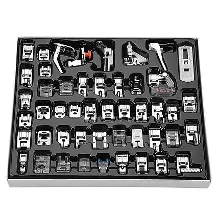 48 Piezas Prensatelas Accesorios para Máquina de coser