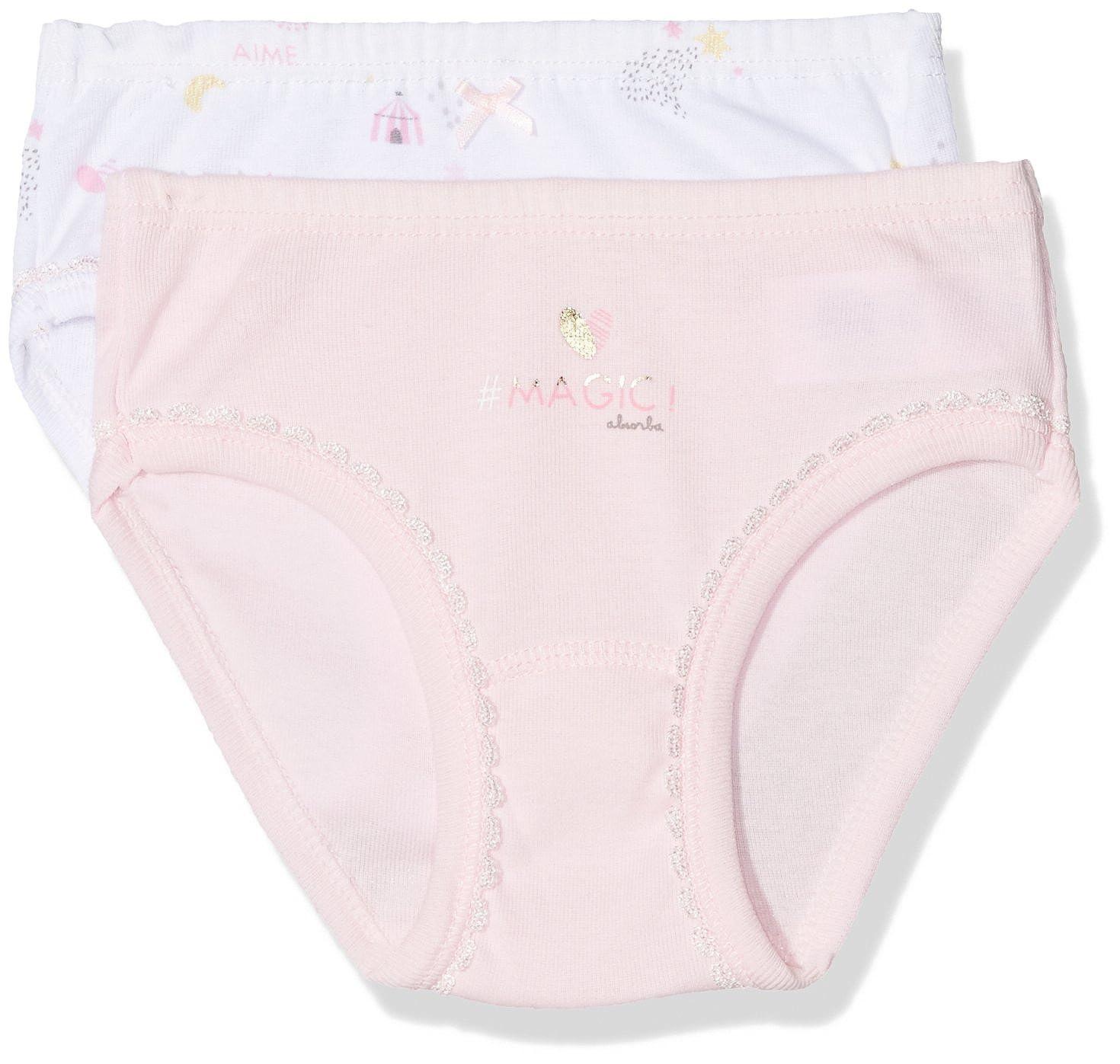Absorba Underwear Slip Bambina Absorba Underwear 6L65086-RA Bianco (Blanc 01)