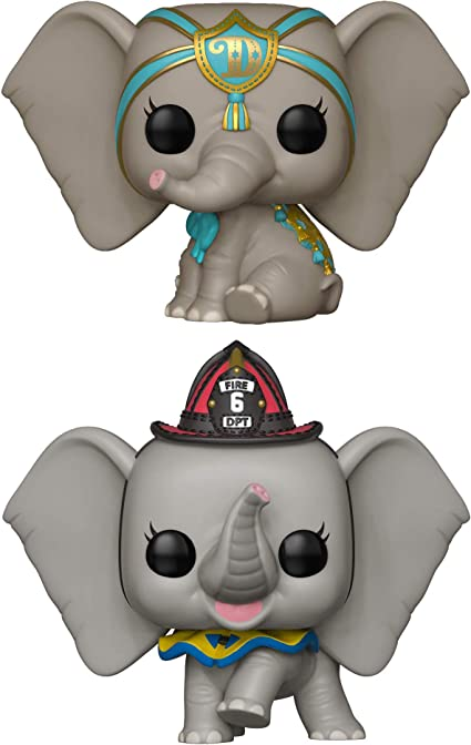 Dreamland Dumbo and Fireman Dumbo Bundle of 2 Dumbo Live Funko Pop!