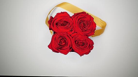 Fleurs Du Coeur Infinity Flores Rosas Blancas Box