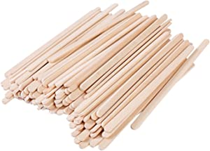 Gmark Disposable Wooden Stirrer, Wood Coffee Stir Sticks 5.5 Inch for Tea Beverage, Corn Dog Stick Craft Stick, 500 Pcs/Box GM1010 (500)