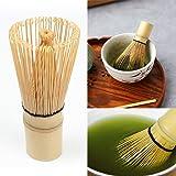 Tea Whisk,EFORCAR Japanese Ceremony Bamboo Chasen Green Tea Whisk Portable Tool for Preparing Matcha Powder-1pcs