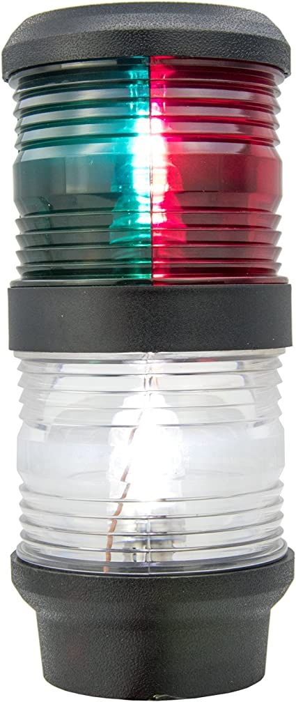 LED Bi-Color Boat Lights /& All Round Anchor Navigation Marine Masthead Light