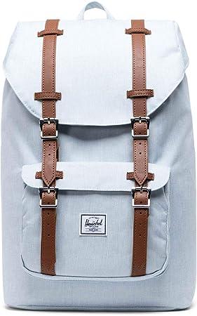 Herschel Little America Mid-Volume Rucksack 40.5 cm navy//tan synthetic leather