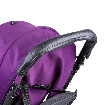 Acogedor - Funda para manillar de bebé, para cochecito/manillar, funda de reemplazo