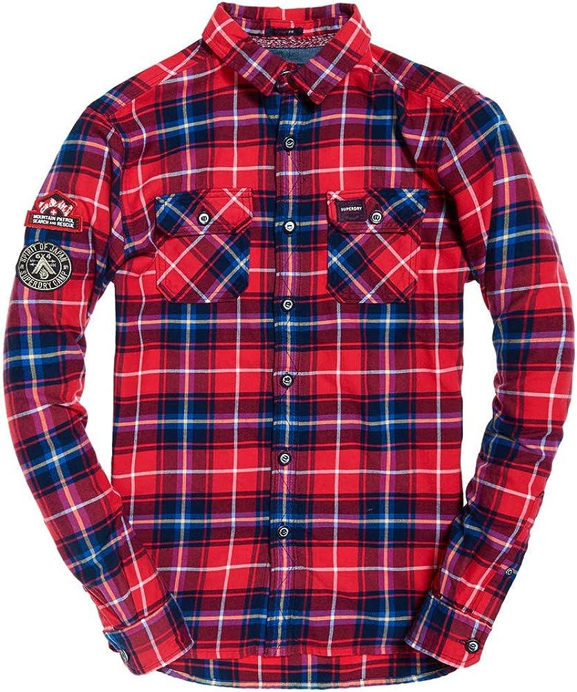 Superdry Camisa Lumberjack Rojo S Rojo: Amazon.es: Ropa y accesorios