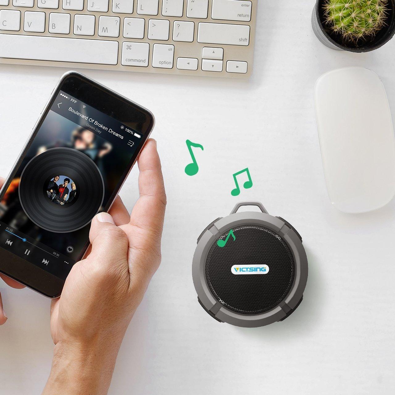 VicTsing Bluetooth Waterproof Hands Free Speakerphone Image 3