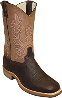 product image for Abilene Men's Bison Two-Toned Western Boot Round Toe