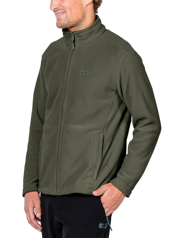 Jack Wolfskin Moonrise Jacket MenFleecejacke Männer woodland green Gr. M