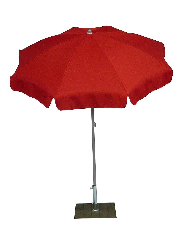 memorizzare Maffei Art 12 Borgo, ombrellone rotondo diametro cm 200, 200, 200, tessuto polyma, Made in . colore rosso  negozio all'ingrosso