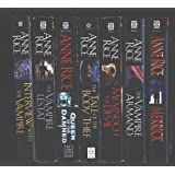 "Anne Rice 7 Book Set ""Interview with the Vampire"", ""The Vampire Lestat"", ""Queen of the Damned"", ""The Tale of the Body…"