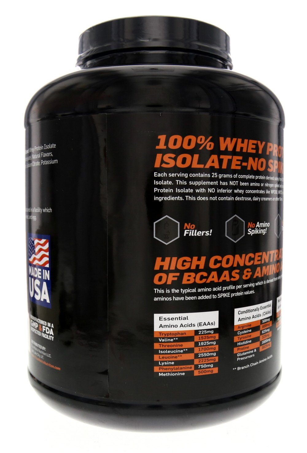 ISO-Clear 100% Hydrolyzed Whey Protein - High Concentration of BCAA - No  Lactose or Trans