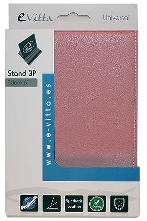 e-Vitta eBook Stand folio Rosa funda para libro electrónico ...