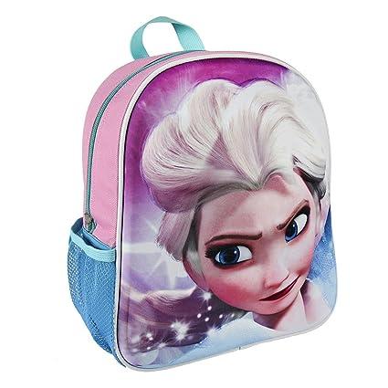 Amazon.com | Disney 2100001967 Frozen Elsa 3D Effect Junior Backpack (31 cm) | Kids Backpacks