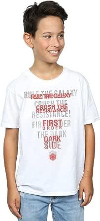 Star Wars niños The Last Jedi Dark Side Echo Camiseta