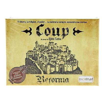 Amazon.com: Zacatrus! – Coup and Reform (zac011): Toys & Games
