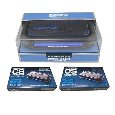 CSX3 Squash Air Spencer Bundle of CS-X3 Squash Air Freshener Unit and Refill Cartridge 2 Packs: Automotive