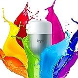 Ollivan Xiaomi Bombilla LED Control Remoto Inteligent Bombilla WIFI Brillo Ajustable Bulbo LED E27 9W Blanco (Multicolor)