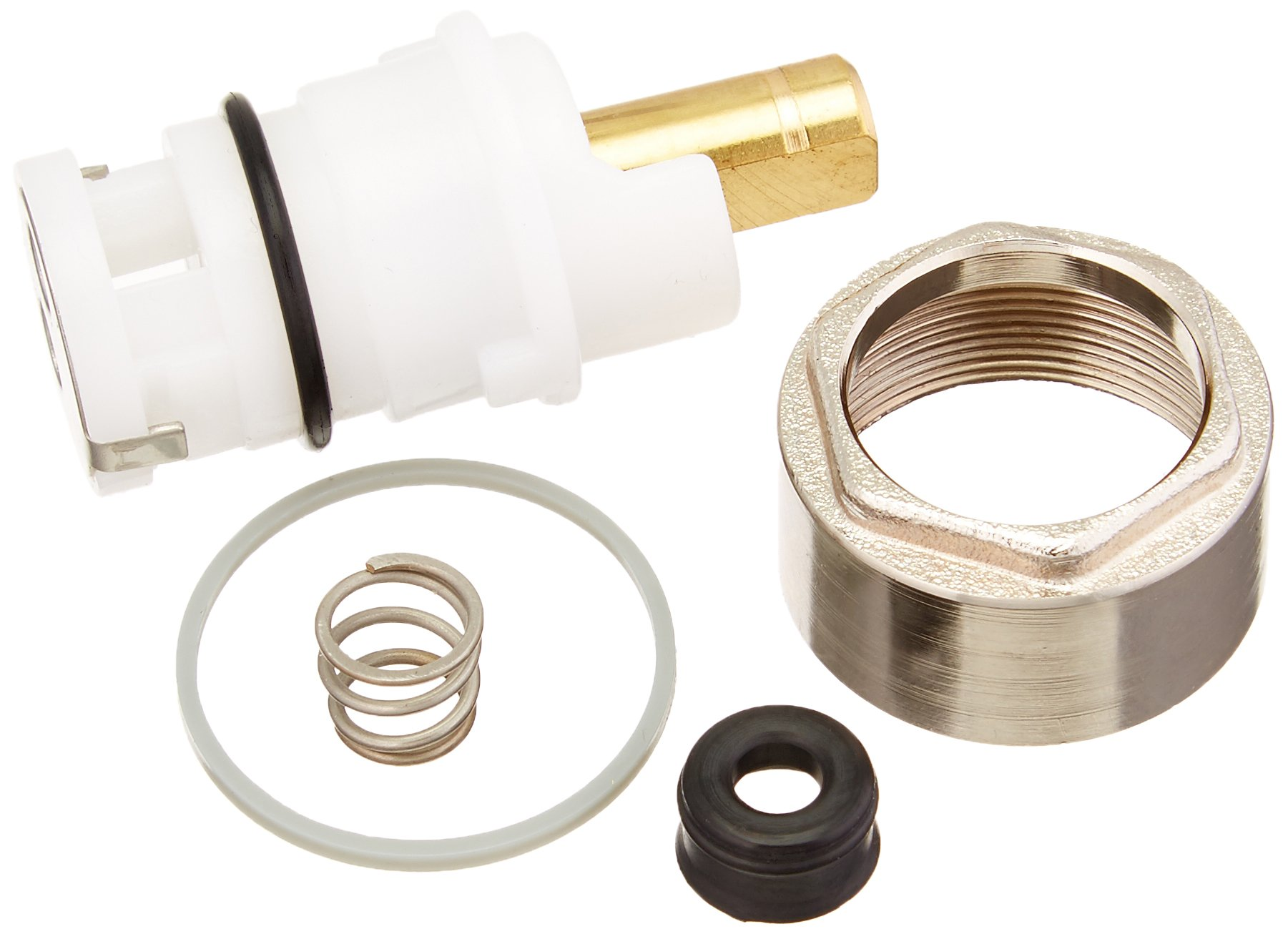 Delta RP64760 Talbott Stem Unit Assembly, Seat and Spring, Bonnet Nut and Washer, Chrome