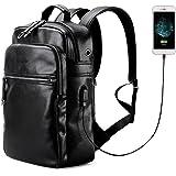 LIELANG Uomo Zaino per laptop Borsa per PC portatile Backpack per Notebook con USB Porta
