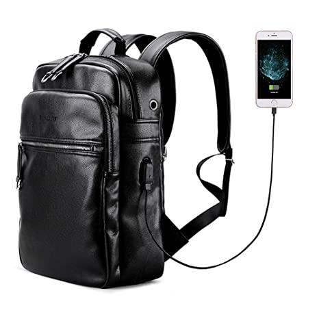 80027c0f90 LIELANG Uomo Zaino per laptop Borsa per PC portatile Backpack per Notebook  con USB Porta