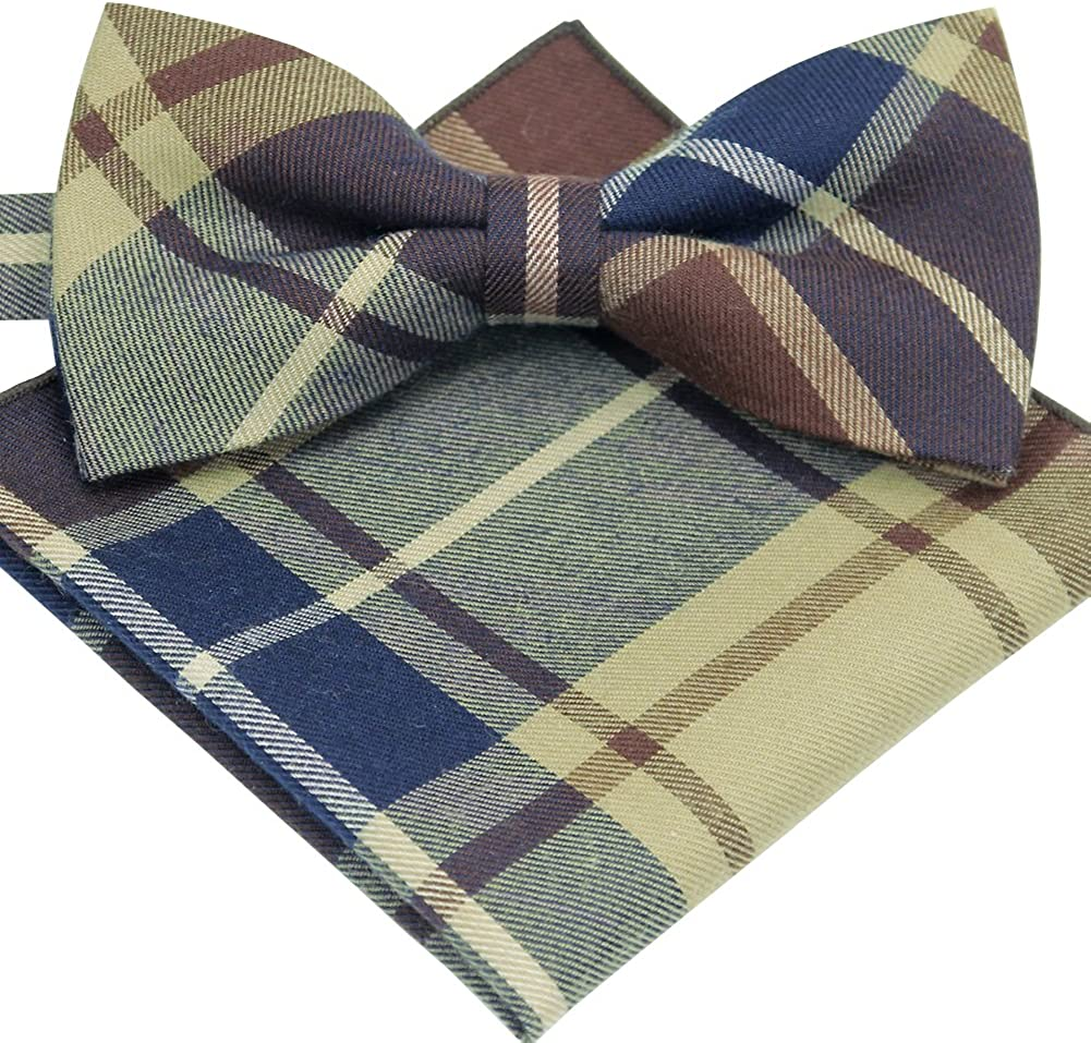 Various Colors ST34 Brand New Multi-colored Wool Quality Pre-tied Bow tie for MEN