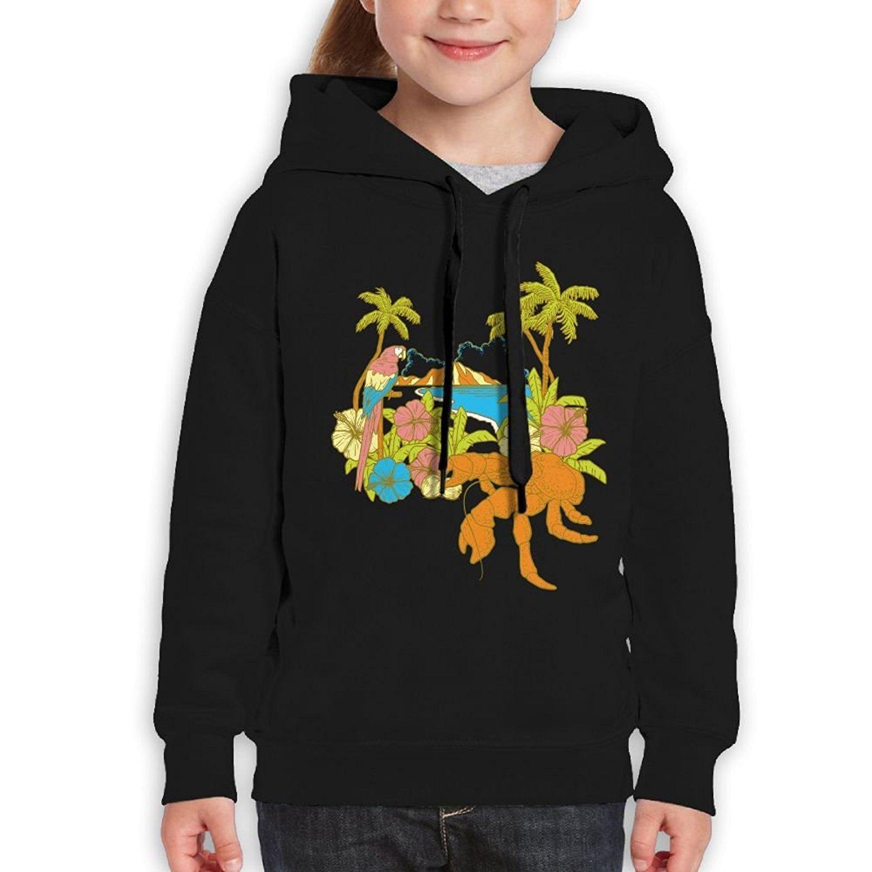 Starcleveland Teenager Pullover Hoodie Sweatshirt Coconut Tree Teens Hooded Boys Girls