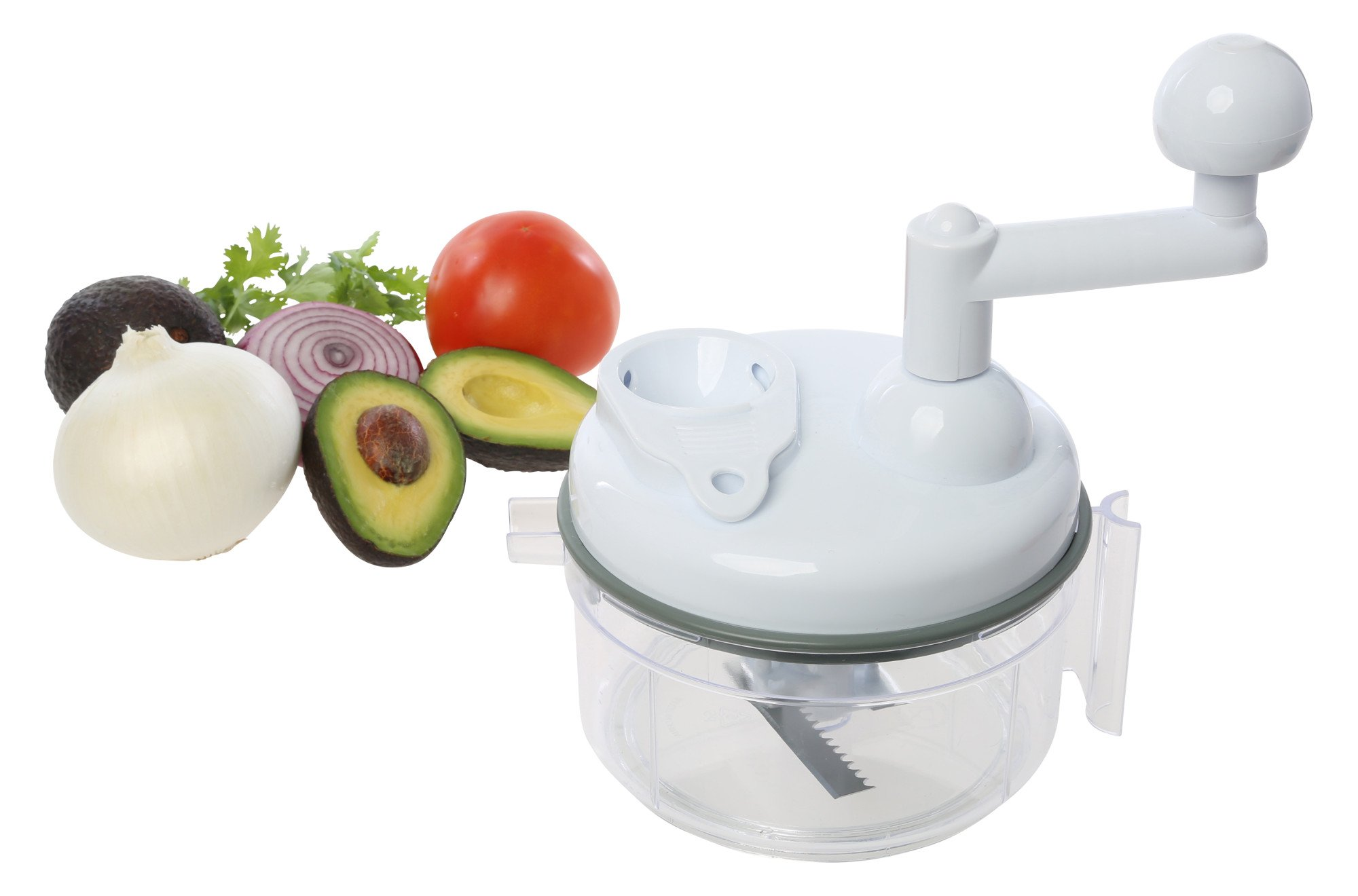 Salsa Master Salsa Maker, Food Chopper, Mixer and Blender - As Seen On TV Manual Food Processor