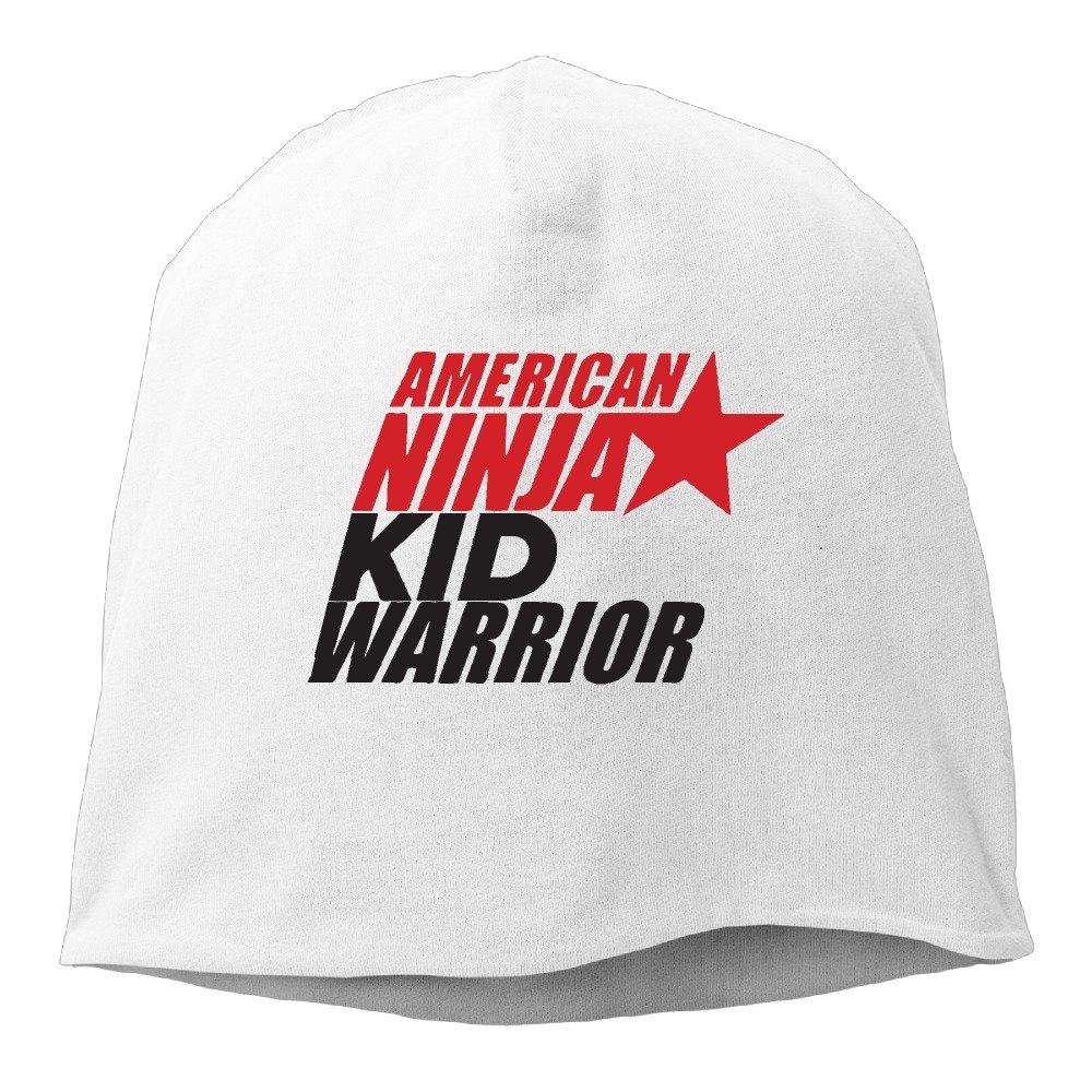 Unisex American Ninja Kid Warrior Cool Skull Cap Slouch Beanie Hat