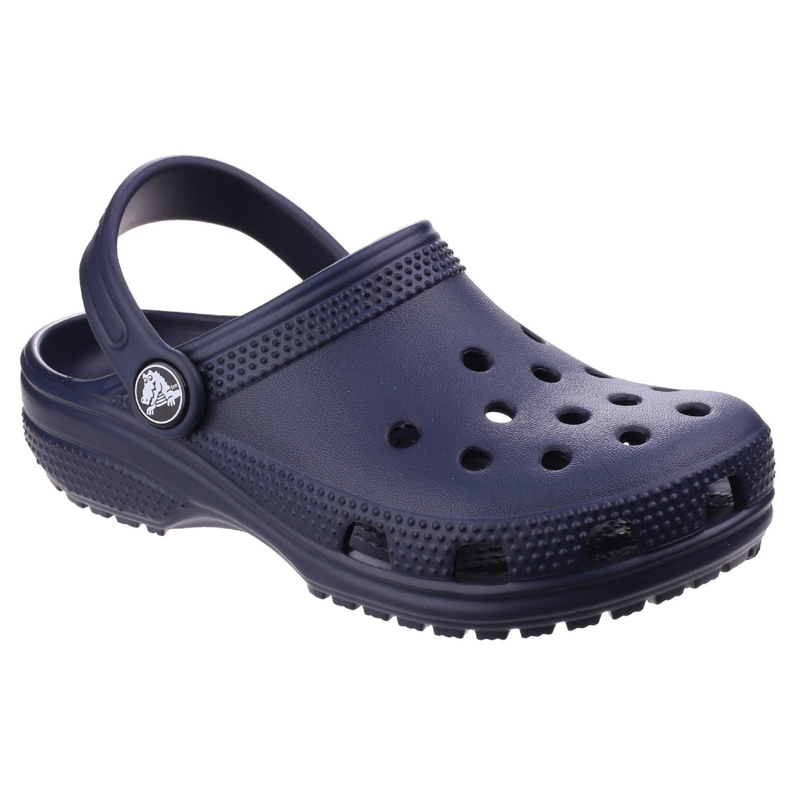 Crocs Unisex Childrens/Kids Classic Clogs (2 US) (Navy)