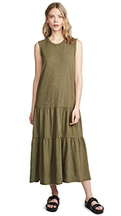 dc350d97a Wilt Women's Tiered Shell Dress, Olive, Green, X-Small