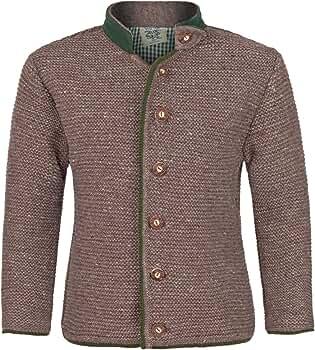 Trend-Promotion Austria Janker marrón para Tejer Joven Chaqueta de Traje Regional Camisa y Pantalones de Piel para niños: Amazon.es: Ropa y accesorios