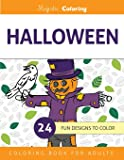 Halloween Coloring Book for Grown-Ups