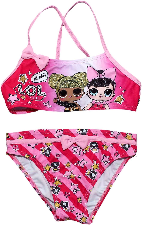 LOL Surprise Girls Hi Bae Two Piece Bikini Sweamwear Set