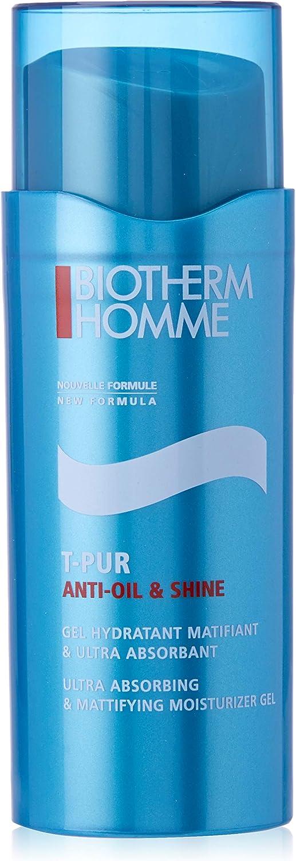 Biotherm Homme T Pur Anti Oil & Shine Gel Hydratant Matifiant Tratamiento Facial - 50 ml