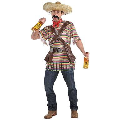 Amazoncom Tequila Bandito Costume Standard Chest Size 42 Clothing