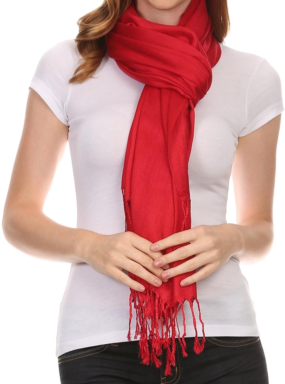 "Sakkas 78"" x 28"" Silky Soft Solid Pashmina Shawl/Wrap / Stole 5060248302705"