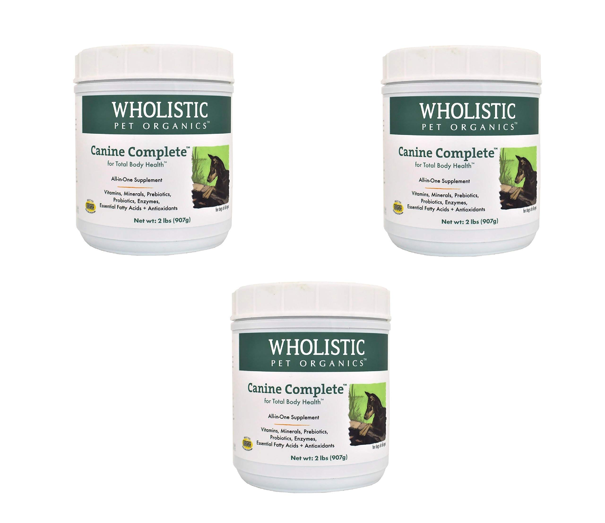 Wholistic Canine Complete (2 lbs Tub) (3 Pack)