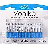 VONIKO - Premium Grade AAA Batteries - 24 Pack - Alkaline Triple A Battery - Ultra Long-Lasting, Leakproof 1.5v…