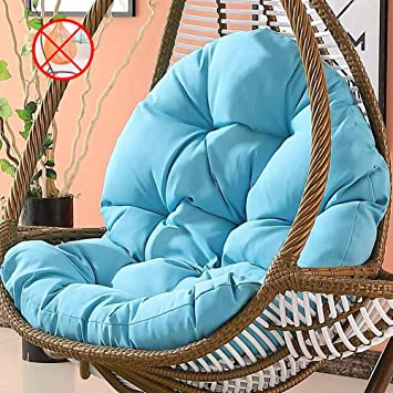 Amazon.com: Tina as Wicker Rattan Hanging Egg Chair Pads ...