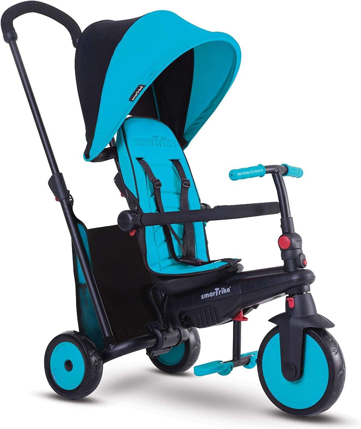 SMARTRIKE smarTfold 300 Triciclo Plegable para bebé, Color Azul (5021800)