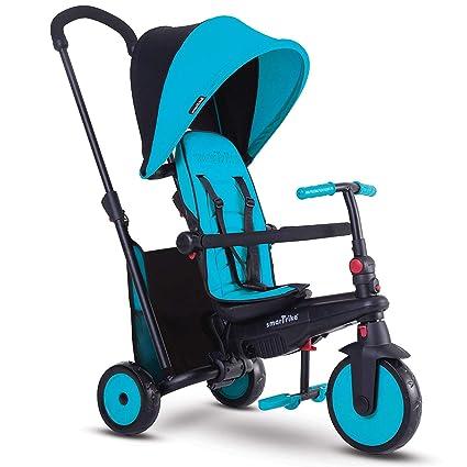 SMARTRIKE- smarTfold 300 Triciclo Plegable para bebé, Color Azul (5021800)