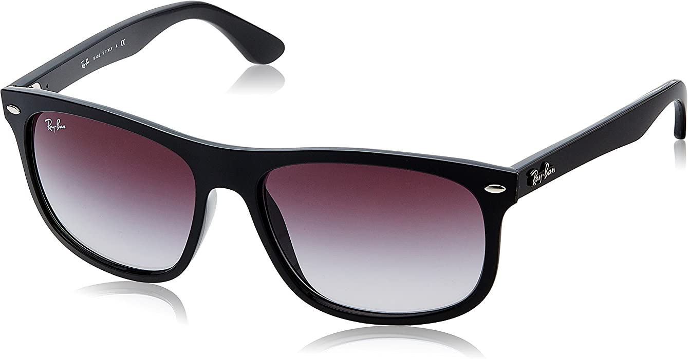 cc6d8aac91d Amazon.com  Ray-Ban Injected Man Sunglass Rectangular