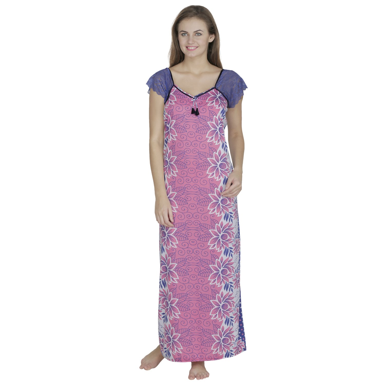 Klamotten Women s Nighty (X108 PinkFree Size)  Amazon.in  Clothing    Accessories b3b4d0c6c