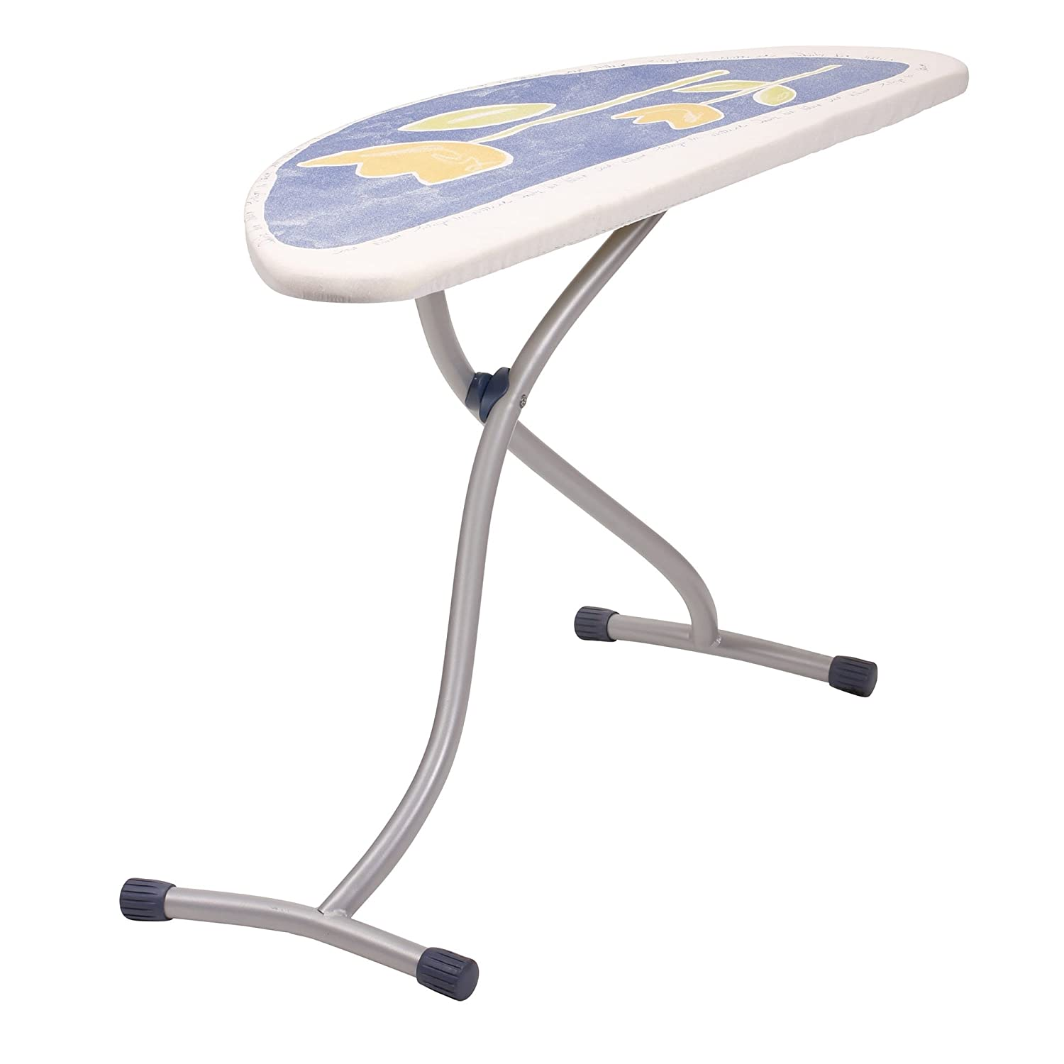 Household Essentials Mega Top 4-Leg Aluminum Ironing Board with Natural Cotton Cover 971960-1