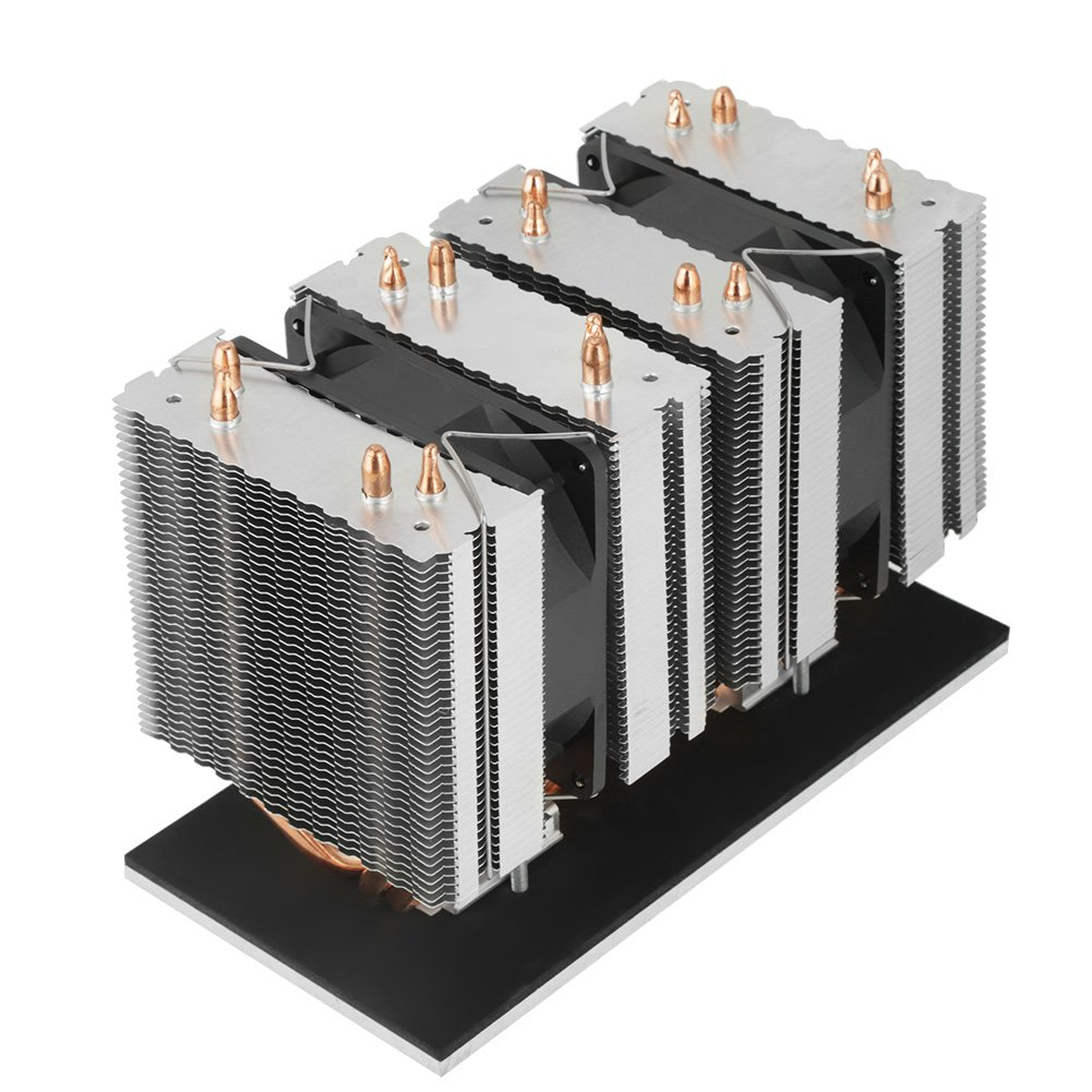 XD-6038 DIY Aluminum Cooling System 12V 240W Electronic Refrigerator Cooler Kit for Refrigerator Heat Dissipation Semiconductor Refrigeration