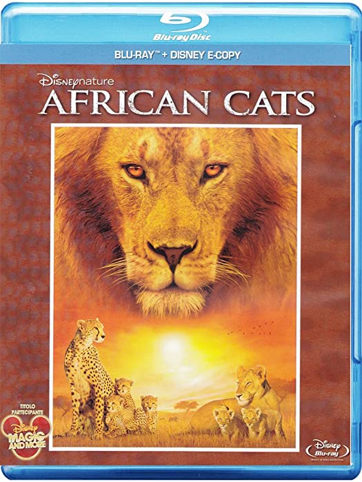 African Cats (Blu-Ray+E-Copy)