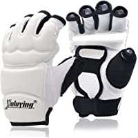 MCTi Punch Bag Taekwondo Karate Sparring Grappling Fight Boxing Gym Training Gear Leather Gloves Mitts for Women Men Kids