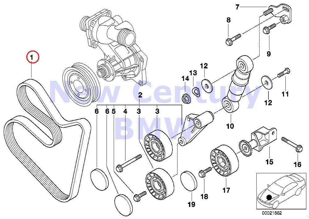 amazon genuine bmw e39 e53 sedan suv v ribbed belt pk7 x 1623 BMW E39 540I amazon genuine bmw e39 e53 sedan suv v ribbed belt pk7 x 1623 oem 11287636369 automotive