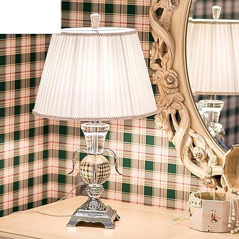 YUE Lámpara de mesa de cristal/Lámparas de sobremesa de gama ...